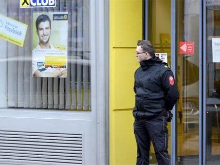 Nach kurzer Flucht endete am Donnerstag ein Bankraub in Wien-Leopoldstadt.