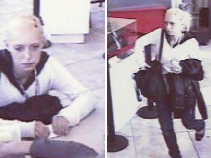 Die Polizei sucht nach dieser Frau.