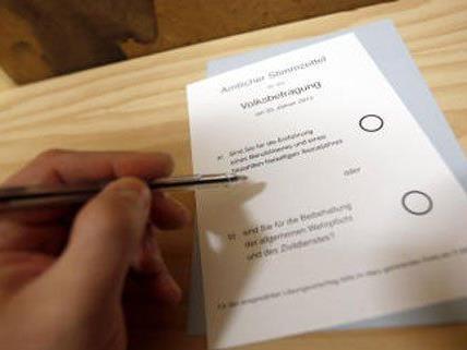 Die Wiener Volksbefragung findet von 7. bis 9. März statt.