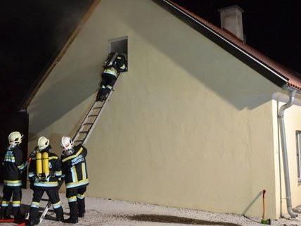 Am Sonntag brannte es im Bezirk Wiener Neustadt.