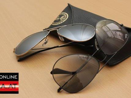 Bei der Ostereier-Suche mitmachen und eine von den beiden Ray Ban-Sonnenbrillen gewinnen.