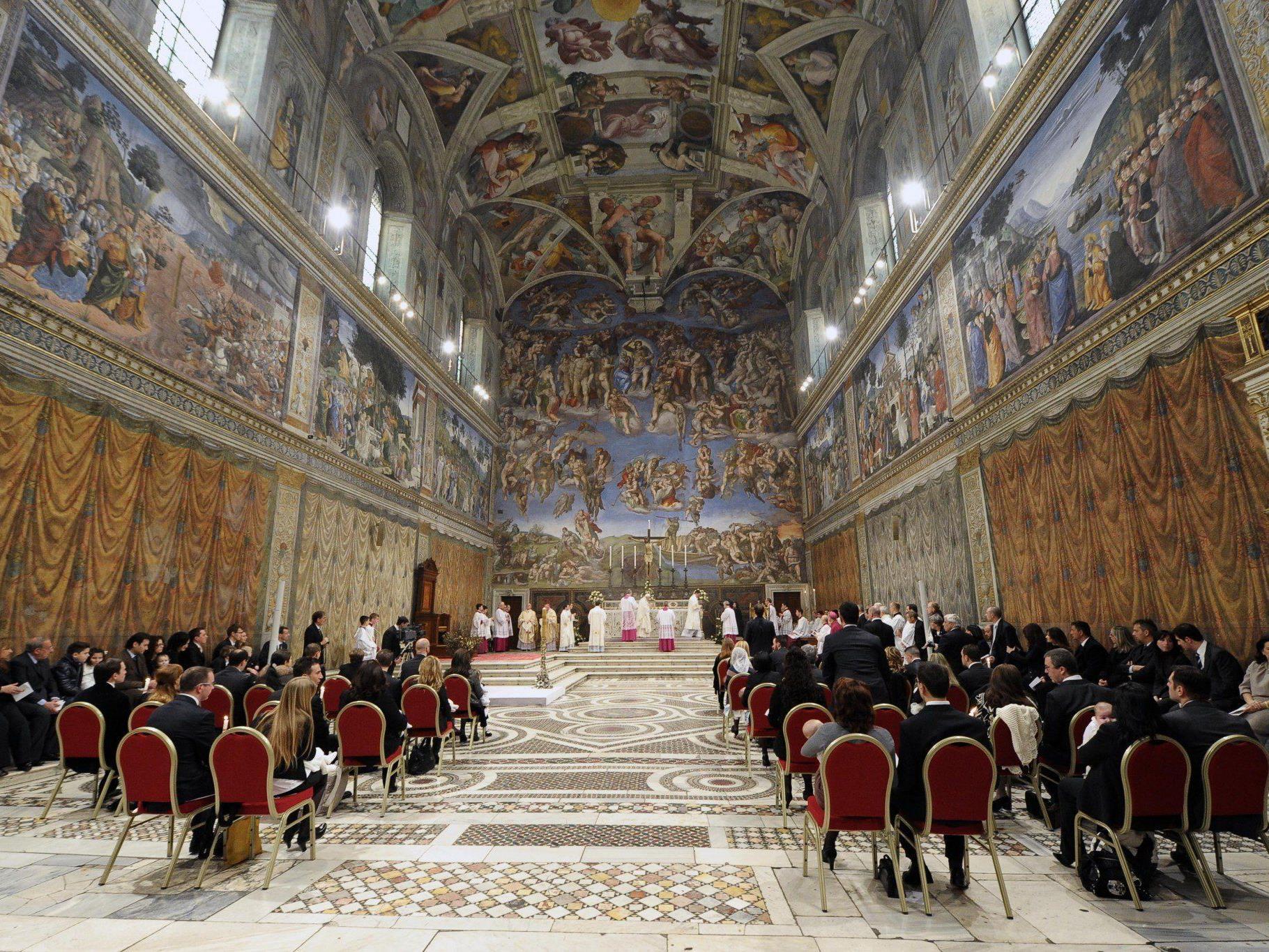 Jeder sechste Mensch ist Katholik.
