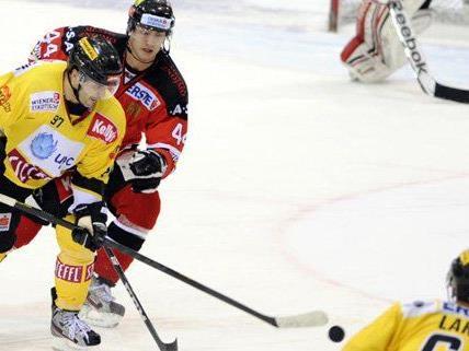 Nach dem klaren 0:7 Sieg gegen HC Orli Znojmo stehen die Vienna Capitals vor dem Aufstieg