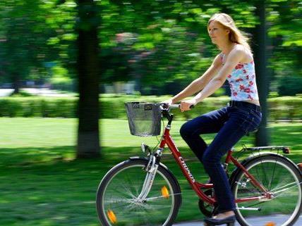 Der Fahrradverkehranteil in Wien soll 2013 auf acht Prozent steigen.