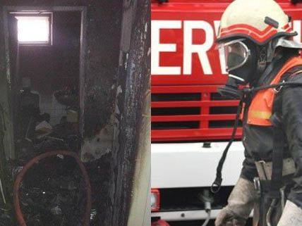 Drei Personen mussten nach dem Wohnungsbrand ins Spital gebracht werden.