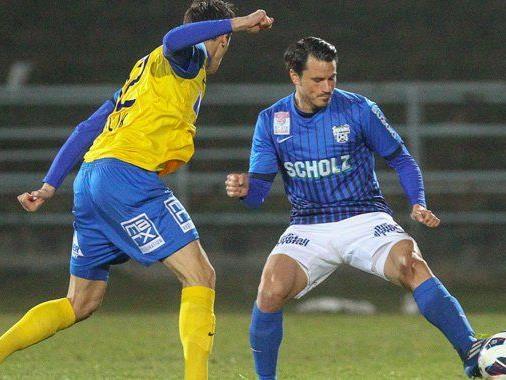 Duell FC Vienna gegen Grödig am Freitag.