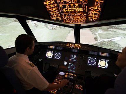 Schnupperflug mit dem Osterhasen in Österreichs modernstem Airbus A320-Simulator