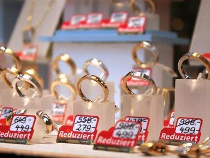 Bereits sechs Juwelierüberfälle gab es heuer in Wien.