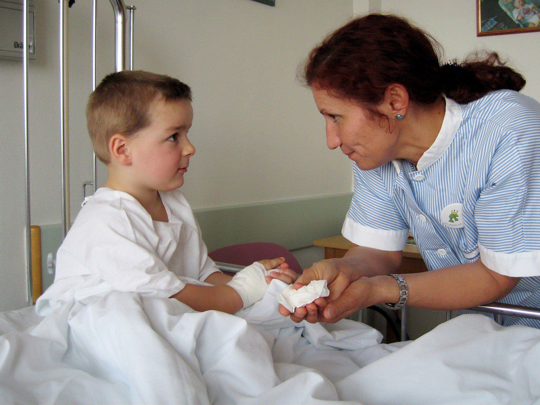 Der Wundverband könnte lebensrettend für Kinder sein.
