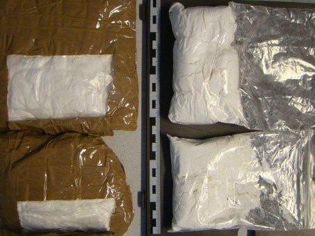 Die beiden Dealer wollten Kokain im Wert von 70.000 Euro verkaufen.