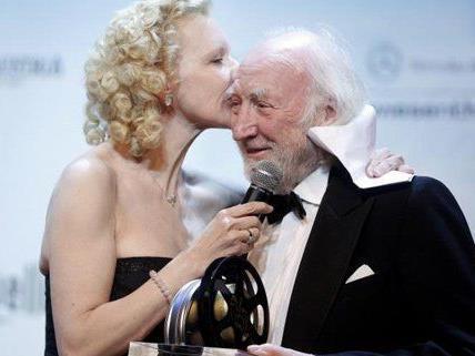 Für Schauspieler Karl Merkatz gab es am Filmball eine Auszeichnung.
