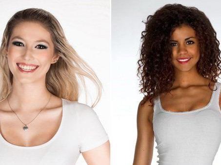 Clara und Yemisi treten zur Miss Vienna Wahl 2013 an.