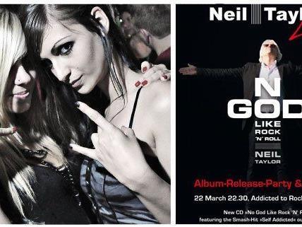 Der Gitarren Künstler Neil Taylor wird beim Addicted to Rock im U4 für ausgelassene Stimmung sorgen
