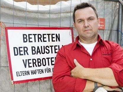 """Günther Nussbaum-Sekora gilt in Österreich als """"Held der geprellten Häuslbauer""""."""