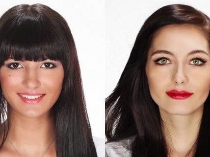 Ornela und Sarah haben das gleiche Ziel: Sie wollen Miss Vienna werden.