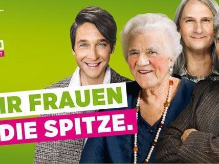 Die Plakatständer der Grünen müssen in Wien wieder entfernt werden.
