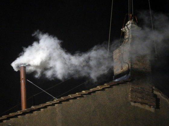 Der weiße Rauch verkündete am Mittwoch, dass ein neuer Papst gewählt wurde.