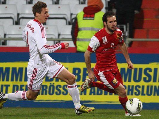 Red Bull Salzburg gelang gegen die Admira nur das 1:1.