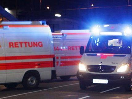 Messerstich in den Hals in Wien-Donaustadt.