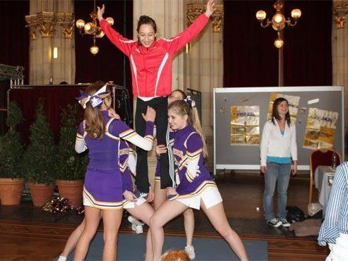 Am 09. April findet wieder der Girlie Sports Day im Rathaus statt.
