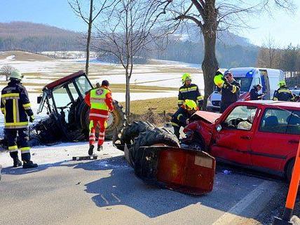 Aus ungeklärter Ursache verlor eine Lenkerin in Sulz die Kontrolle über ihr Fahrzeug.