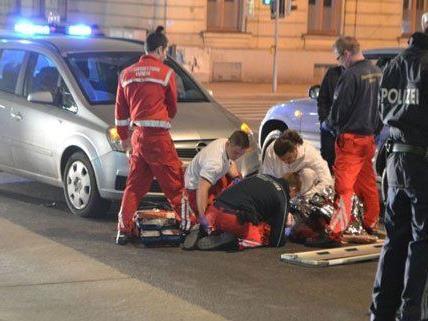 Am Mittwoch wurde ein Fußgänger in Wien-Margareten bei einem Unfall verletzt.