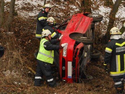 Zwei Personen wurden bei dem Unfall in Niederösterreich verletzt.