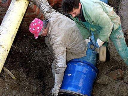 Am 13. März wird mit der Erneuerung von Wasserleitungen begonnen.