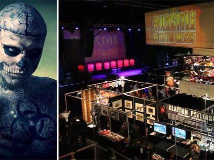 Die Wildstyle & Tattoo Messe gastiert wieder in Wien. Stargast: Zombie Boy!