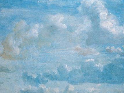 Wolken aus 200 Jahren werden im Wiener Leopoldmuseum gezeigt.