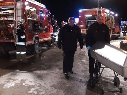 Zwei Menschen kamen bei dem Eisenbahnunglück ums Leben.