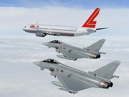 Eurofighter im Übungseinsatz
