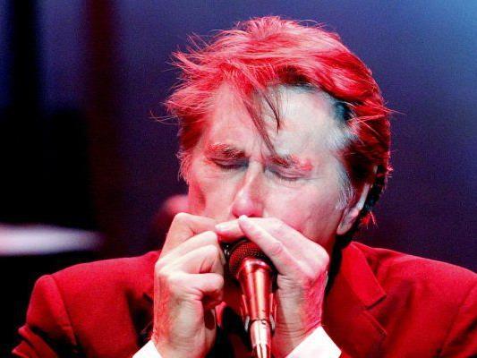Bryan Ferry ist wieder einmal am Jazz Fest Wien mit dabei.