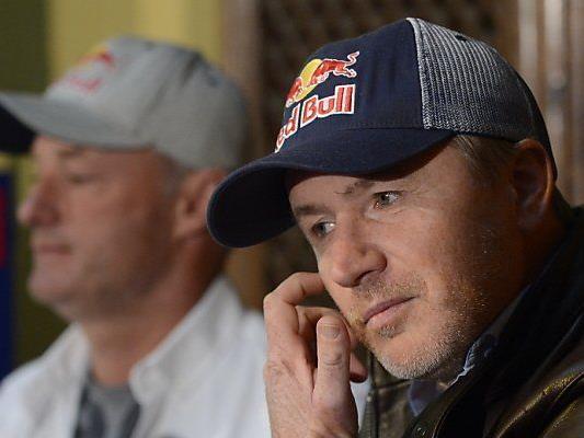 Hagara (r.) und Steinacher starten für Red Bull
