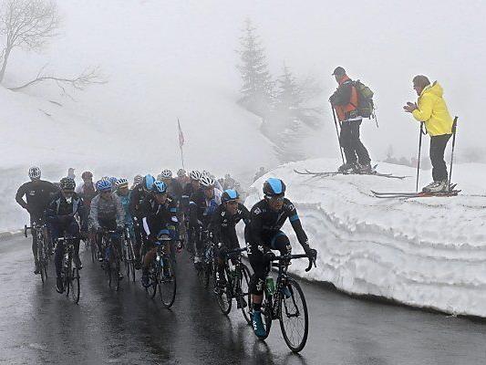Winter meldete sich in der Schweiz zurück