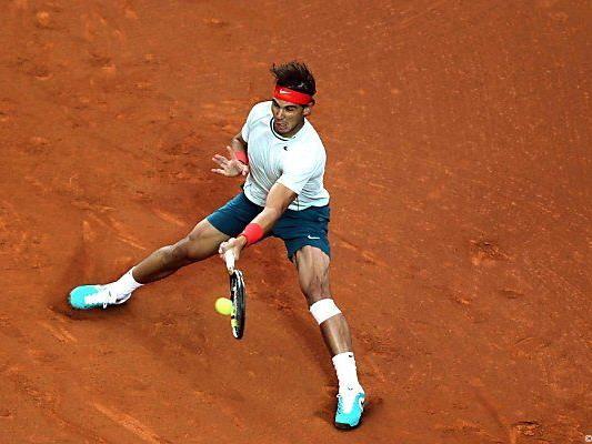 Nadal ist auf Sand wieder ganz der Alte