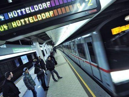 Betrieb der U-Bahnlinie U4 in Wien war fünf Stunden gestört