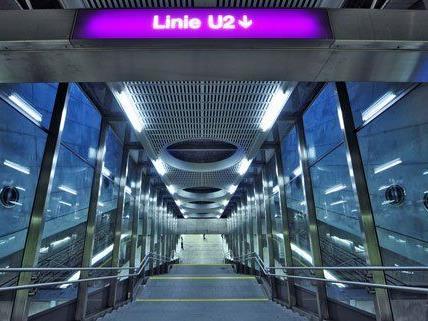U2 - Die lila Linie im Wiener Untergrund