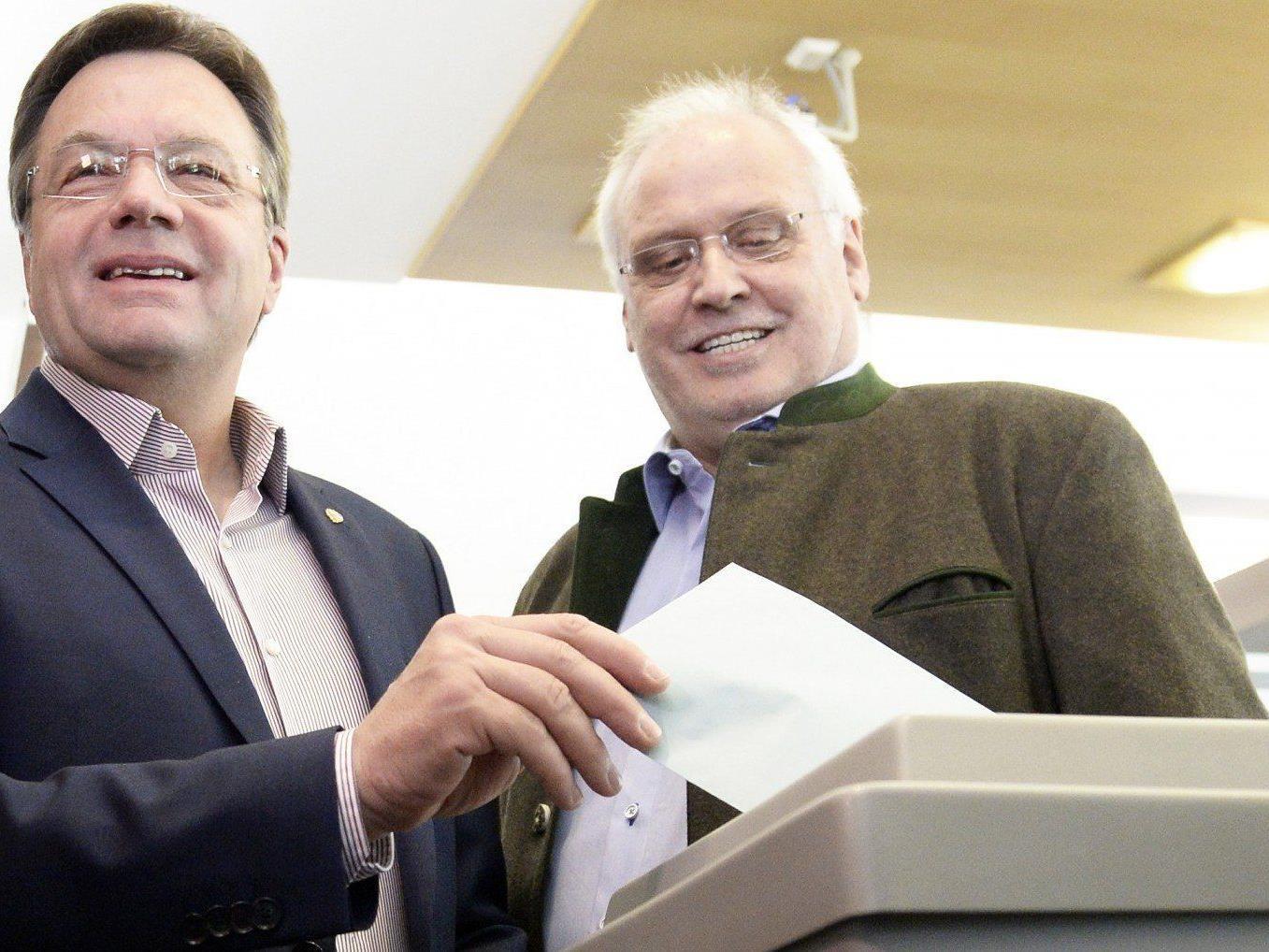 Landtagswahl-Tirol: Günther PLatter wird mit allen Gruppierungen sprechen.