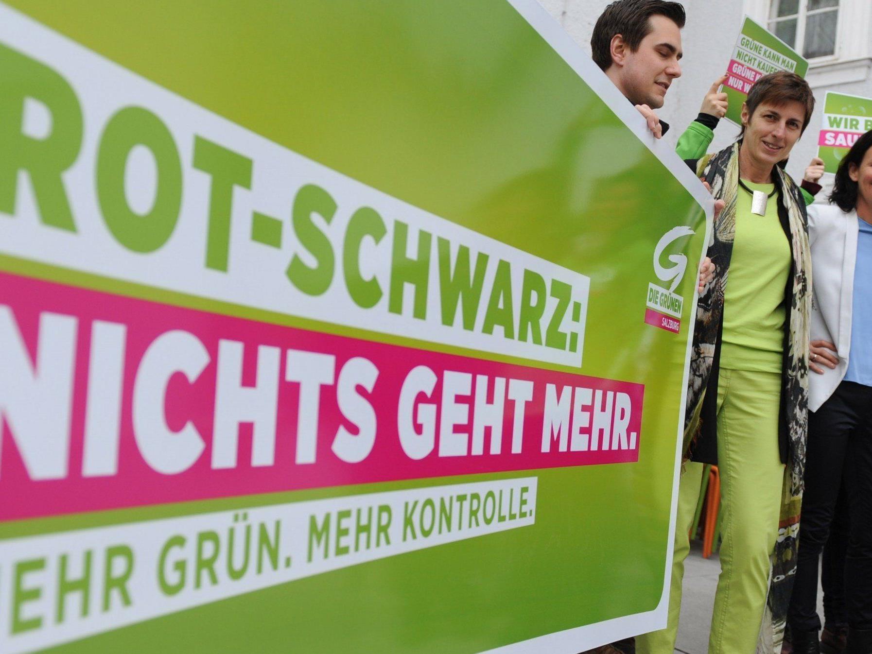 Die Auftaktsveranstaltungen der Landtagswahl in Salzburg starten.
