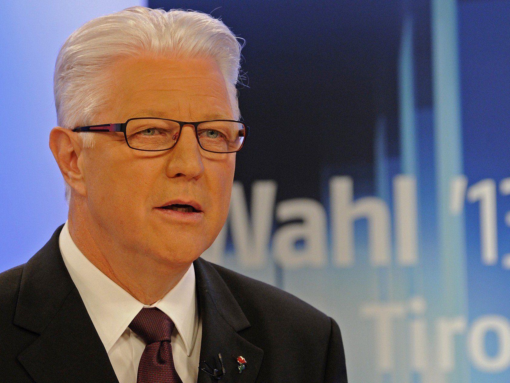 Landtagswahl Tirol: Gerhard Reheis will Landeshauptmann werden.