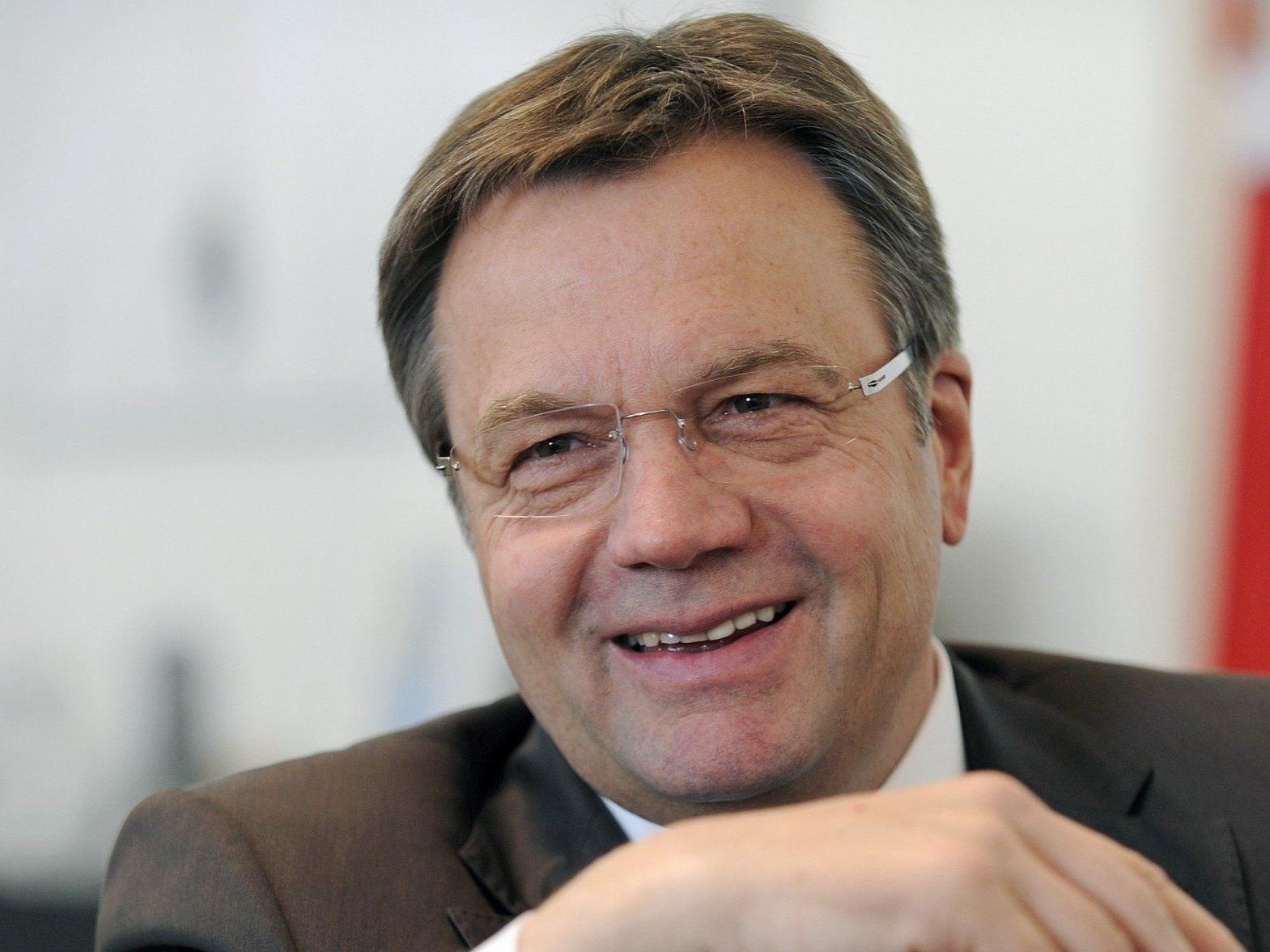 Günther Platter leitete am Samstag den ÖVP-Walkampf für die Landtagswahl in Tirol ein.