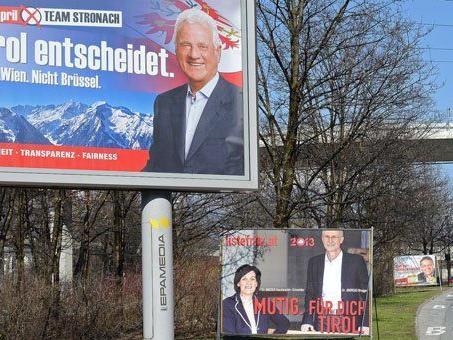 Newcomer und Kleinparteien wittern bei der Landtagswahl in Tirol ihre Chance.
