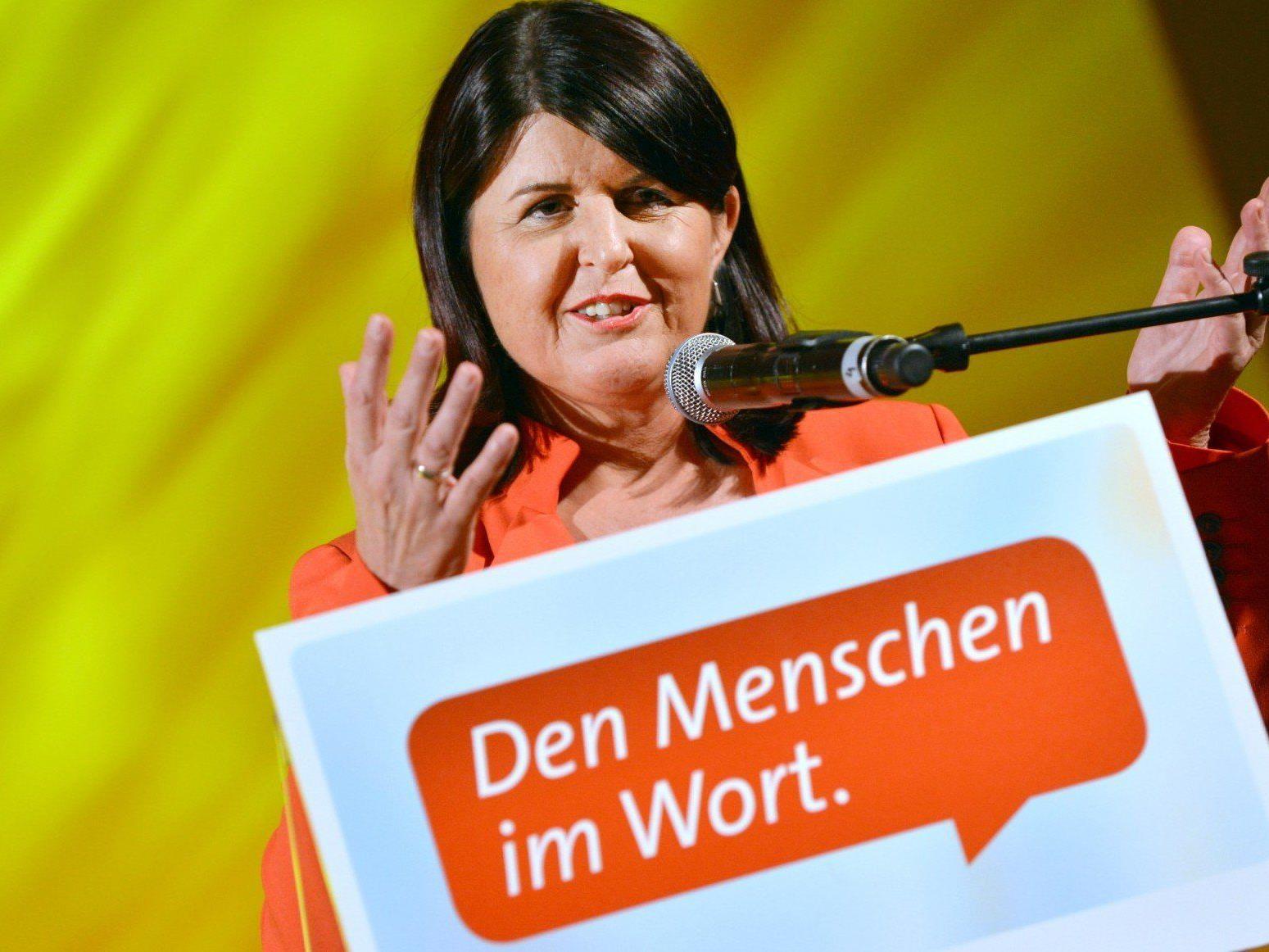 Gabi Burgstaller startete in den SPÖ-Wahlkampf für die Landtagswahl 2013.