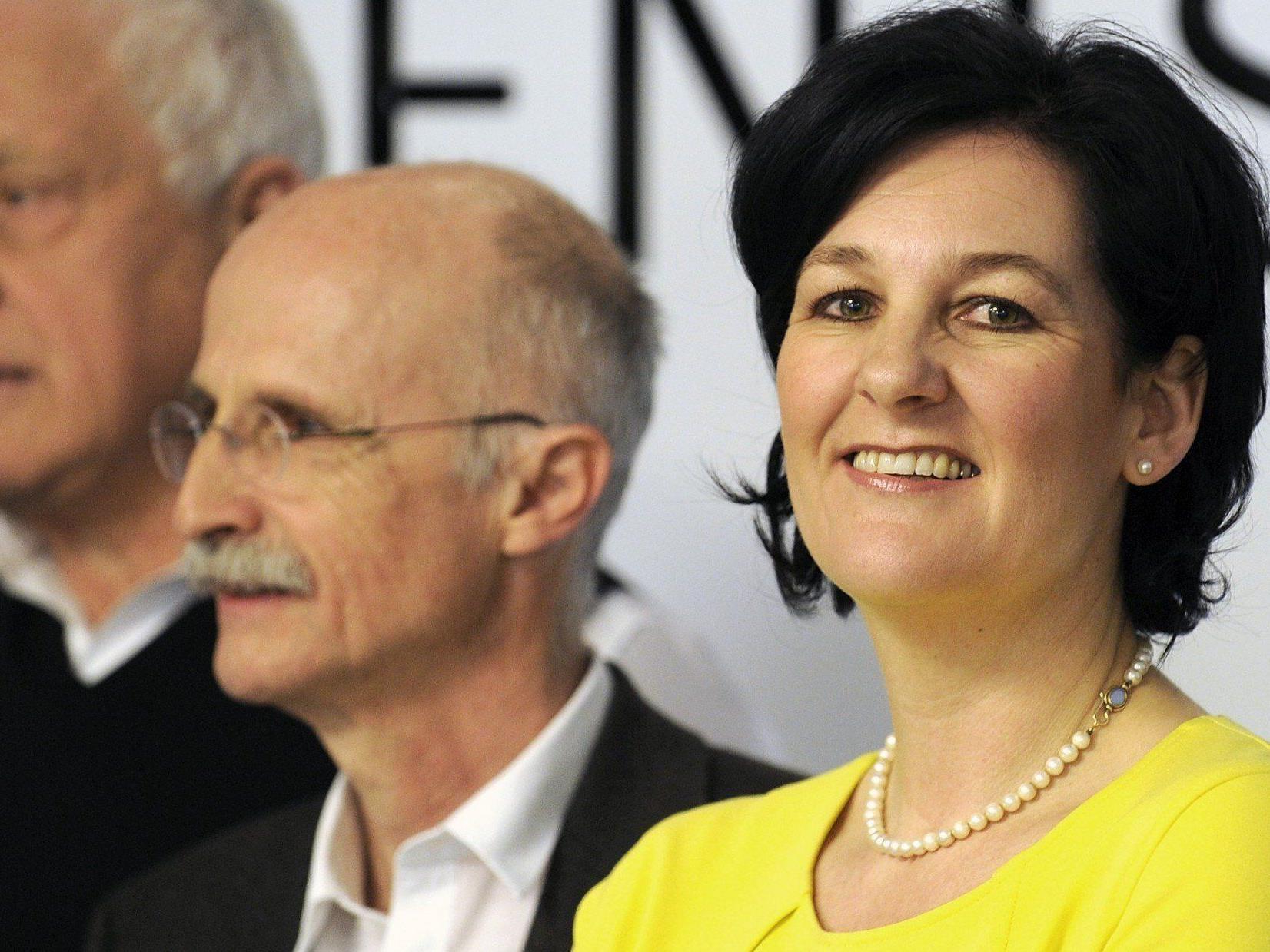 Spitzenkandidatin Andrea Haselwanter-Schneider tritt für die Liste Fritz in Tirol an.