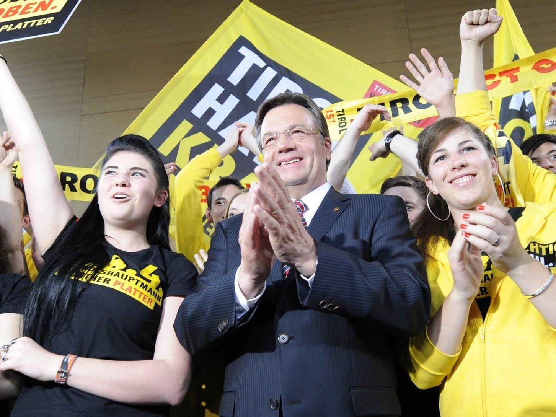 Das vorläufige Endergebnis der Landtagswahl in Tiol 2013: ÖVP mit knapp 40 Prozent.