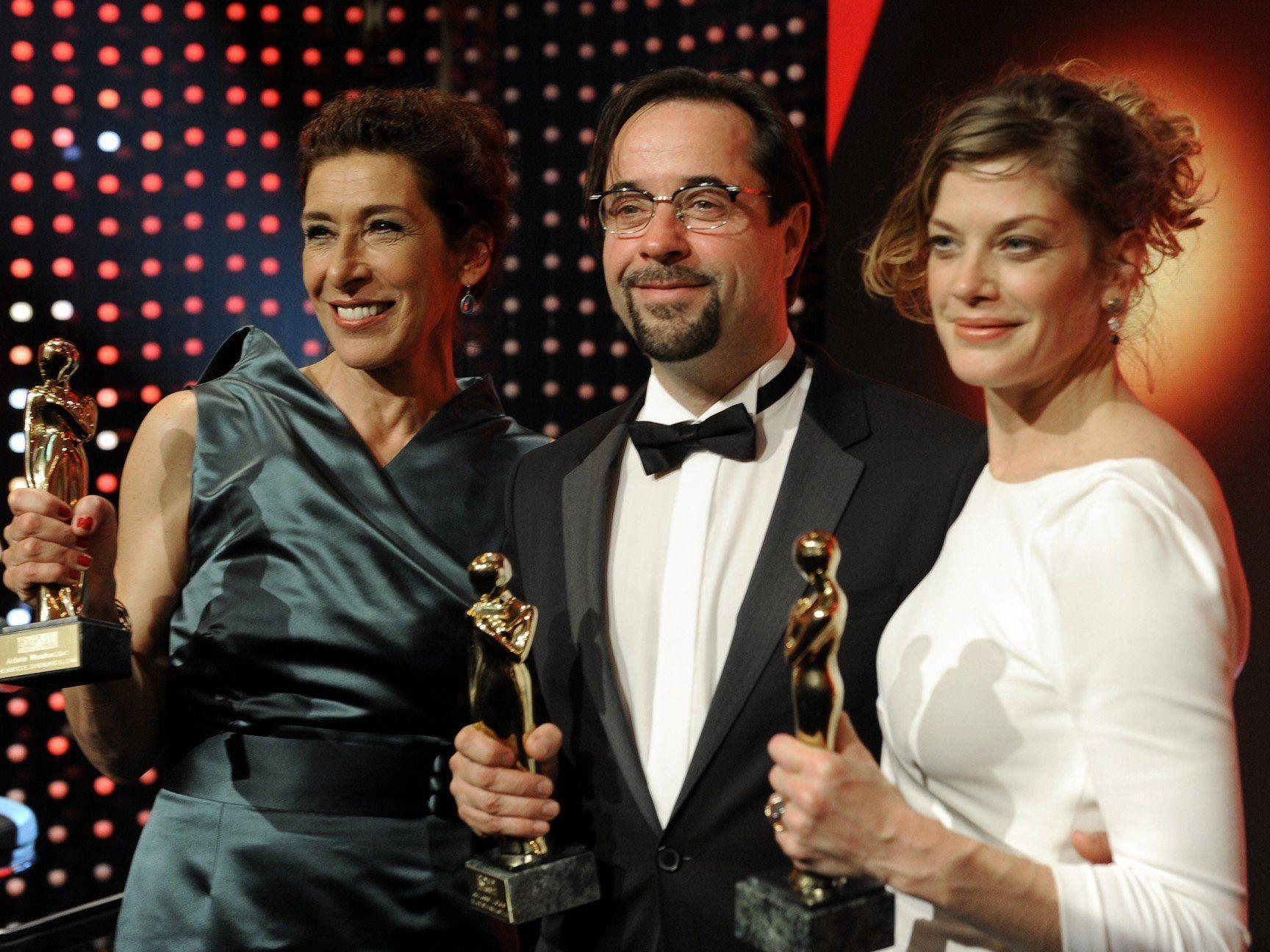 Viele glückliche Gewinner bei der Romy Gala in der Wiener Hofburg