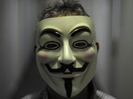 Die Räuber trugen bei dem Coup in Favoriten Guy Fawkes-Masken