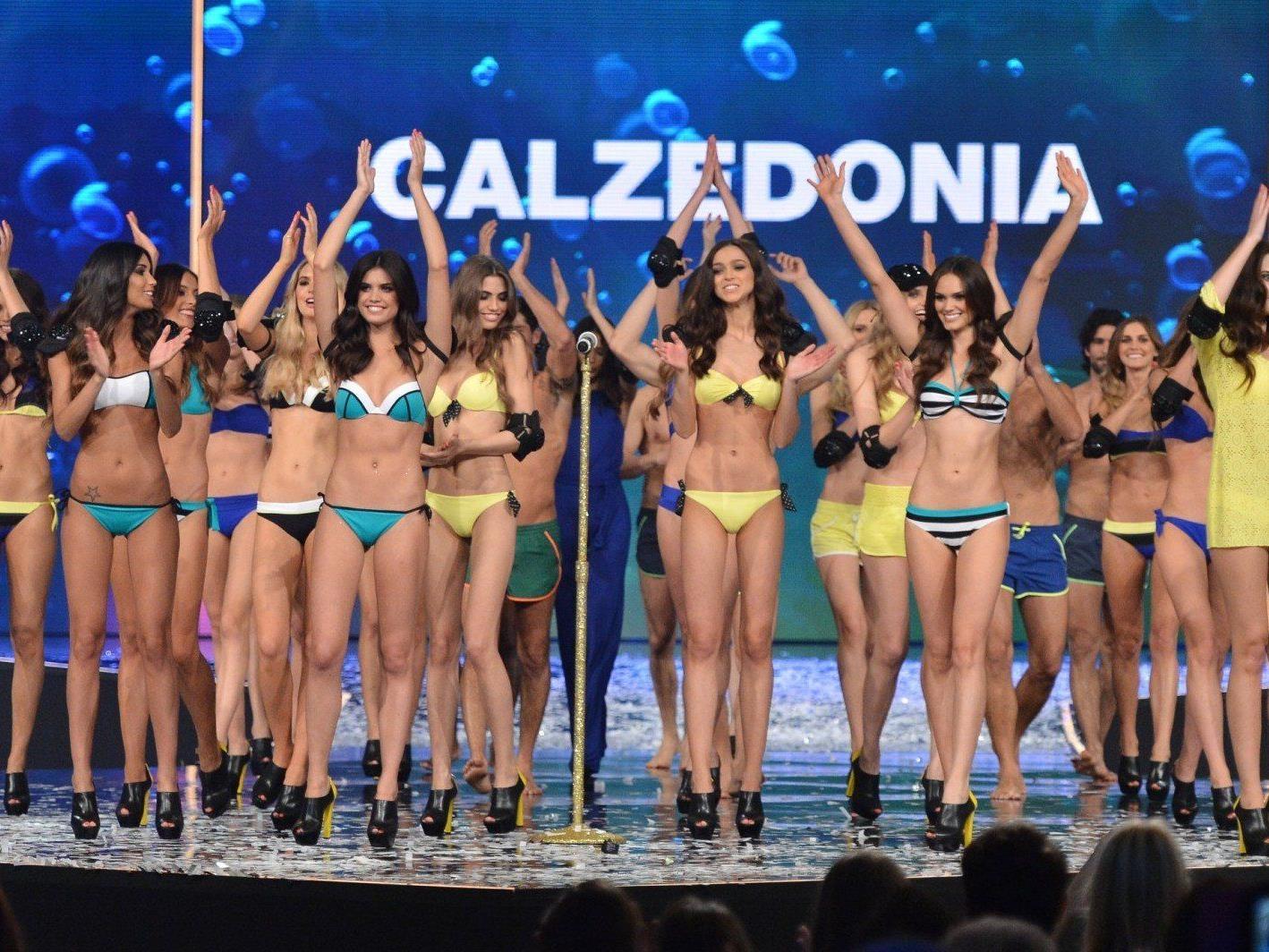 In Rimini wurden die heißen Bikini-Trends von Calzedonia vorgestellt.