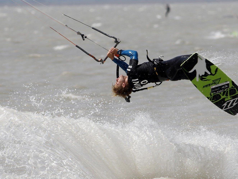 Am 26. April starten die Bewerbe beim Surf Worldcup in Podersdorf.